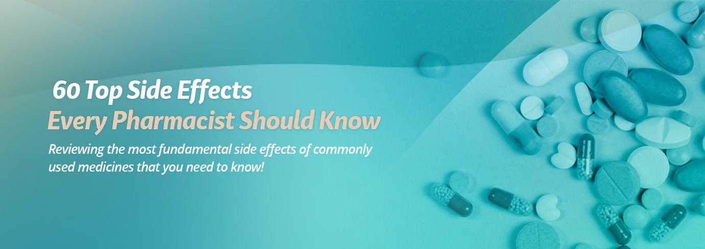 list of side effects