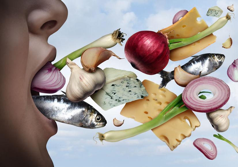 types of bad breath